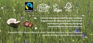 Kosmetik alami bersertifikat Ecocert Greenlife menurut ecocert standard