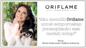 Rossa Brand Ambasador Oriflame
